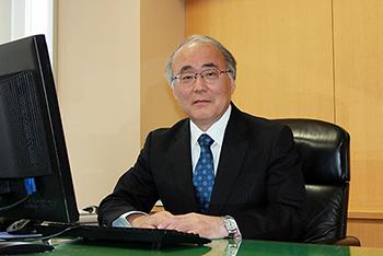 校長の写真